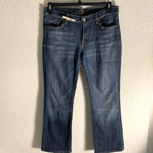 7 FOR ALL MANKIND MENS STRAIGHT JEAN